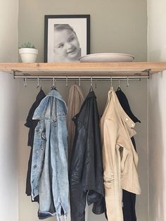 Inspiration for Hall Styling Interior Design by Nicole & Fleur - # for - - Ikea Closet Ideas, Small Hall, Small Entry, Mudroom, Home Organization, Home And Living, Living Room, Small Spaces, Sweet Home