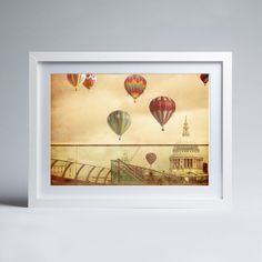 Keri Bevan - London Flight - Framed print Art Prints, Framed Art, Photography, Canvas, Image, Painting, Art, Framed Art Prints, Fine Art Photographs