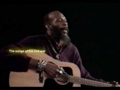 "Richie Havens, song of the civil war, ""Follow the Drinking Gourd"""