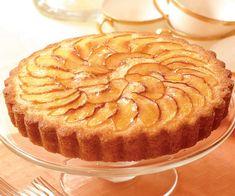 Peach Cake with Apricot & Vanilla Glaze - Recipe - FineCooking