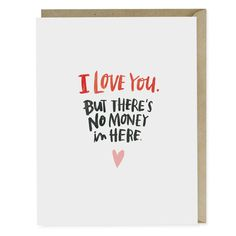This birthday card is for all those who reflexively look for a check inside (all of us). Perfect to send your grown-up kid, niece, nephew or grandchild.