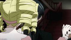 Ciel and Lizzy | gif