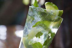 Mojito cocktail on bar counter
