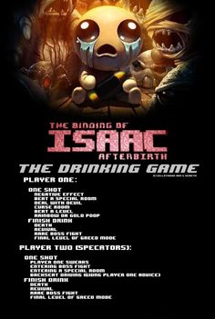 My friend made a Binding of Isaac drinking game... it is killer! http://ift.tt/2y1abL2