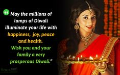 Happy Diwali Wishes Quotes for Friends and Family *{Deepavali 2020}* Diwali Wishes Messages, Happy Diwali Wishes Images, Happy Diwali Quotes, Happy Dhanteras, Wish Quotes, The Millions, Be Yourself Quotes, Friends Family, Peace