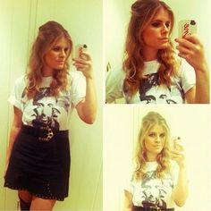 Manuela Carvalho, do @BlogVitrine de saia #FernandaSollito! Amamos! :)