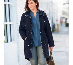 Parka s kapucňou Parka, Raincoat, Bomber Jacket, Jackets, Fashion, Woman Clothing, Winter, Jacket, Womens Fashion