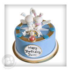 Cardcaptors inspired Momo bunny cake