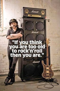 "azaambie: "" RIP Ian 'Lemmy' Kilmister 1945 -2015 Born to lose, lived to win. """