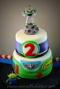 Buzz Lightyear Toy Story Cake 2014 | Flickr - Photo Sharing!
