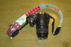 Patchwork Camera Strap Tutorial