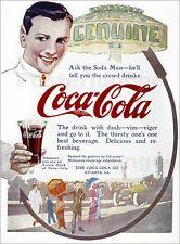 Poster / Leinwandbild Coca-cola Ad, 1914.