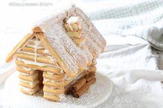 La Casetta di Biscotti savoiardi per Natale è decisamente molto bella da vedere e poi soprattutto si può mangiare ed è golosissima.
