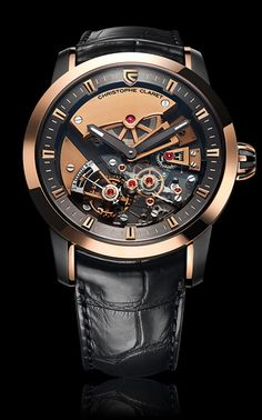 MAESTOSO  Maestoso has written a new chapter in the history of Haute Horlogerie. And the challenge? To equip a wristwatch with a traditional detent escapement, a mechanism usually designed to run in a perfectly stabilized position, and which, thanks to its sublime beauty, manages to eclipse the tourbillon..