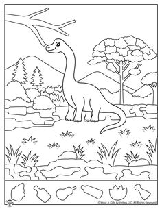 Print our free Dinosaur hidden pictures activities for kids ages Hidden Pictures Printables, Hidden Picture Puzzles, Kindergarten Colors, Picture Composition, Shapes For Kids, Dinosaur Crafts, Colouring Pages, Kids Education, Preschool Activities