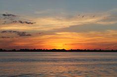 Atardecer Laguna San Miguel del Monte, Provincia de Buenos Aires. Argentina. My new home
