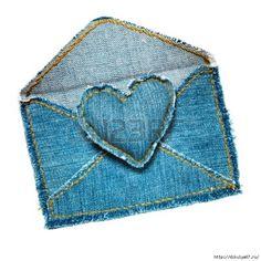 Jeans recyclés : coeurs, jeansherz