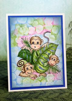 Monkeying Around Preview #2 - Heartfelt Creations