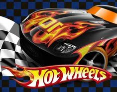 Kit Cumple Imprimible Hot Wheels + Candy Bar - $ 320,00 en Mercado Libre