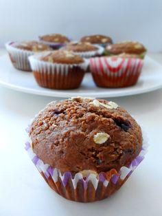 cukormentes teljes kiőrlésű tutibiztos muffin alaprecept - sugarfree dots