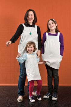 Pinafores - This was in Sew Beautiful magazine and you can download the pattern here @ Sew, Mama, Sew