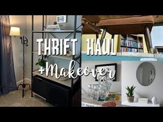 5e977dc1ab9 Home Decor Thrift Haul+Thrifted Makeovers   How I Style Thrifted Items in  my Home