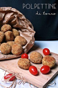Letizia in Cucina: Polpettine al tonno
