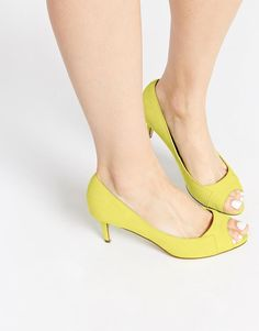 ASOS | ASOS - SPIRAL - Chaussures peep toes à talons chez ASOS