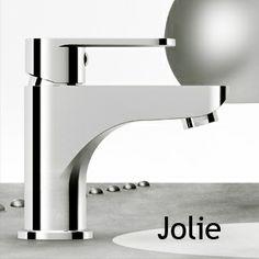 Serie Jolie .  La nuova serie di #miscelatori di #Gaboli Fratelli Rubinetteria