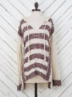 """Altar'd State Running Rivers Hi-Lo Sweater - Boho Chic - Shop by """"State"""" of Mind"""