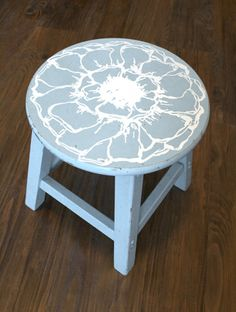 Silhouette Blog: tutorials.   Do this on my wooden stool.