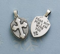 """Fear Not..."" Pendant from James Avery Jewelry"