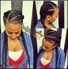 Top 60 All the Rage Looks with Long Box Braids - Hairstyles Trends Latest Braided Hairstyles, Two Braid Hairstyles, African Braids Hairstyles, Girl Hairstyles, Black Hairstyles, Two Cornrow Braids, Gorgeous Hairstyles, Hairstyle Ideas, 2 Braids With Weave