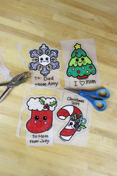 Crafts for Kids and Decoration-makes 12 Santa Stop Here Door Hanger Craft Kit