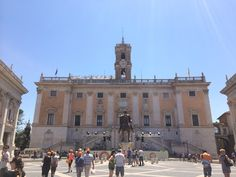 Capitoline Hill Take The Stairs, Great View, Rome, Mansions, House Styles, Building, Travel, Viajes, Manor Houses