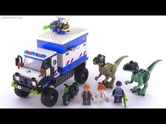 LEGO Jurassic World Raptor Rampage review! set 75917