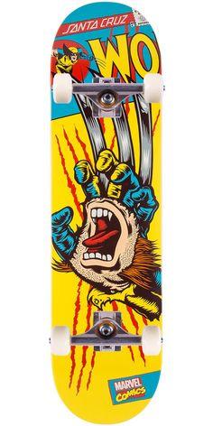 Santa Cruz Skate Boards – Marvel Inspired Screaming Hands