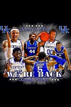 BBNine!!! You don't know how happy this makes me!!!!!! Ya baby!!!! Kentucky wildcats!