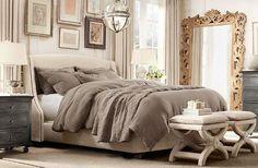 Soft, neutral bedding