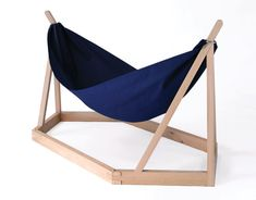 Dissidence, a hammock designed by Laurent Corio for Tecsabois, will definitely rock you right to sleep