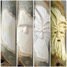 Image result for Wood Carving Faces for Beginners #woodworkingforbeginners