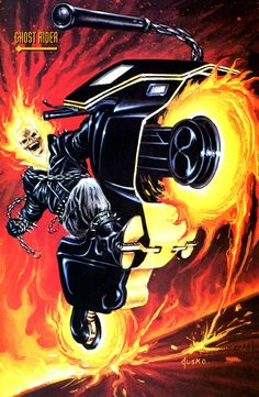Ghost Rider by Joe Jusko