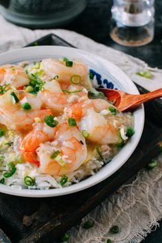 Shrimp with Lobster Sauce - Chinese Takeout Style - The Woks of Life Fish Recipes, Seafood Recipes, Asian Recipes, Cooking Recipes, Ethnic Recipes, Chinese Recipes, Oriental Recipes, Sauce Recipes, Hummer