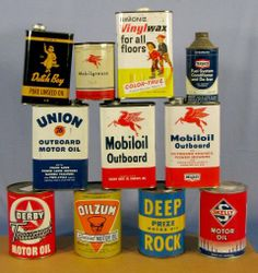 Advertising Tin Cans