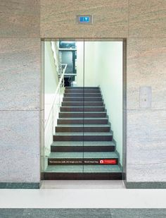 The Promo / PR Ad titled ELEVATOR STAIRS was done by Meridian Communications advertising agency for brand: MEENAKSHI MISSION HEALTH AND RESEARCH CENTRE in India. It was released in the Dec 2009.