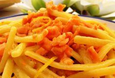 SAPORI di CETARA. La ricetta: Scialatielli con zucca, noci, provolone del Monaco e colatura