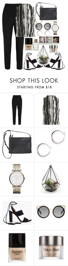 """👁"" by burcaak ❤ liked on Polyvore featuring Dolce&Gabbana, Topshop, Marc by Marc Jacobs, Madewell, Linda Farrow, Butter London, Space NK, StreetStyle and SANDAL"
