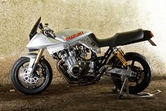 This custom Suzuki Katana proves that the classic streetfighter look still has the power to stop the traffic, thirty years on.