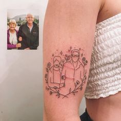 Tukoi Oya is a UV tattoo artist from Melbourne, Australia. For Read more and UV Tattoos View Website Parent Tattoos, Dad Tattoos, Mini Tattoos, Cute Tattoos, Body Art Tattoos, Small Tattoos, Tattoo Dad, Indie Tattoo, Uv Tattoo