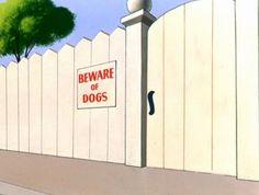 Animation Backgrounds: AIN'T SHE TWEET (Warner Bros., 1952)